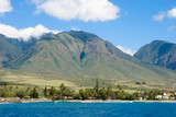 maui, hawaii - the valley island poster