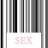 sex barcode, a paid sex concept poster