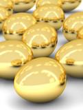 golden eggs array poster