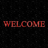 welcome sign poster