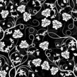 roleta: floral pattern