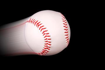baseball in flight