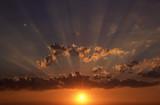 sorgere del sole poster