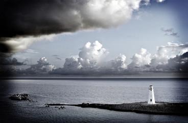 lighthouse with holga film look