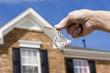 Leinwanddruck Bild - house keys