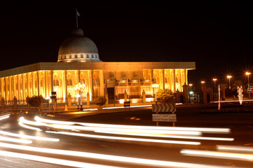 sheik's palace in sharja, uae