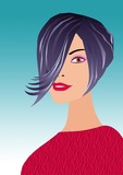 slylish haircut poster