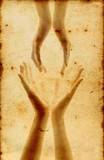 Fototapeta koncepcja - ręka - Stopy / Dłonie