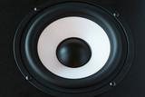 audio speaker poster