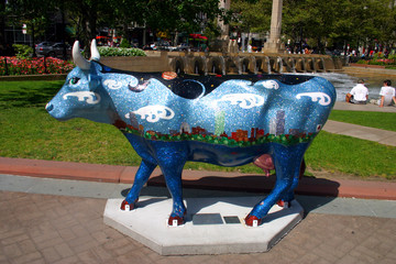 boston cow parade