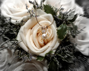 rose and jewels
