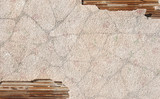weathered stucco background poster