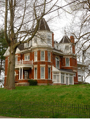 historic brick home circa early 1900s