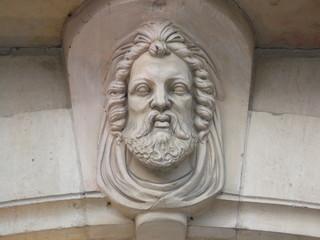 tête de dieu grec