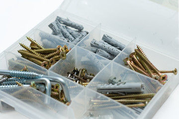 box with screws