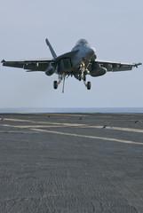 super hornet landing