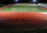 stadium athletics at night poster
