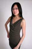 chinese woman hand on hip poster
