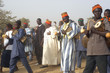 Leinwanddruck Bild - fête de village africain
