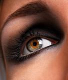 brown eyeshadow poster