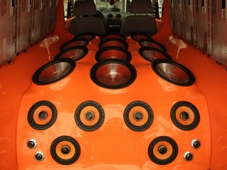 car luxury audio-system