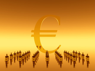 your financial  work team, euro
