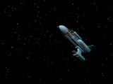 spaceship 1 poster