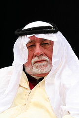 middle east man looking