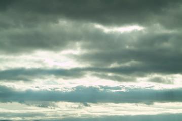 nubes en invierno