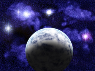 space scene 01