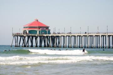 famous huntington beach pier
