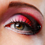 red eyeshadow poster