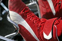 chaussure de pilote