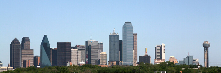downtown dallas, texas skyline