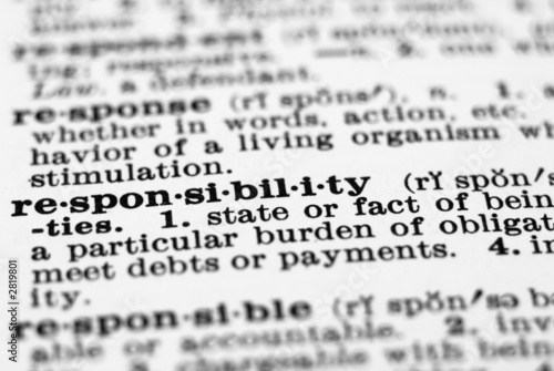 an introduction to the deffinition of responsibility Introduction today, corporate definition of corporate social responsibility corporate social responsibility (csr) is known as a number of other names.