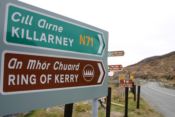 ring of kerry (schild)