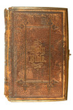 an old bible, printed in 1865.