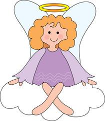 angel on cloud