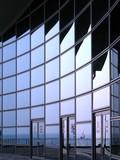 modern building facade poster