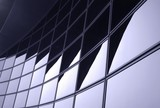 modern corporate facade poster