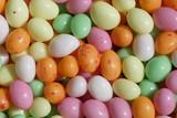petits oeufs en sucre poster