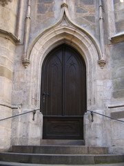 doorway (church of st. peter and paul)