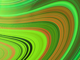 multicoloured wavy curves, abstract background(1)