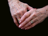aging hands poster