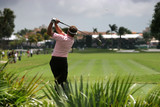 golf swing at doral;, miami poster