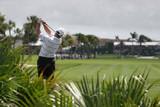 golf swing at doral, miami poster