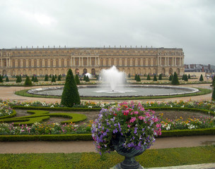 castle in versailles