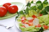 vegetarian salad poster