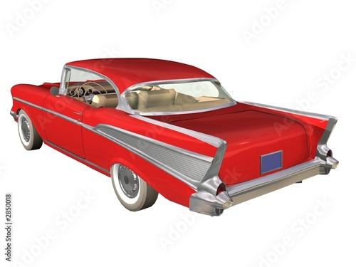 voiture ancienne rouge photo libre de droits sur la banque d 39 images image 2850018. Black Bedroom Furniture Sets. Home Design Ideas