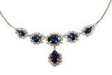 sapphire necklace poster